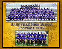 HAHNVILLE FOOTBALL 2012