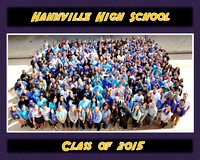 Hahnville Senior Class Group 2015